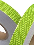 Best Reflective Tapes - Hi Viz Fluorescent Grade Lime Reflective Tape 50mm Review