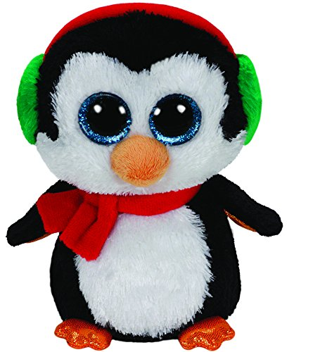 Beanie Boo Christmas Penguin - North - 24cm 9""