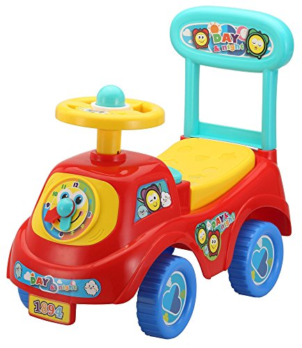 Rutschauto in 10 verschiedenen Modellen – Ein guter und preiswerter Aufsitzwagen Rutschwagen Lauflernwagen Kinderfahrzeug , Modell:Red Car