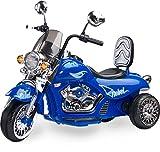 toyz Caretero Rebel Elektro Kindermotorrad Kinderfahrzeug, blau