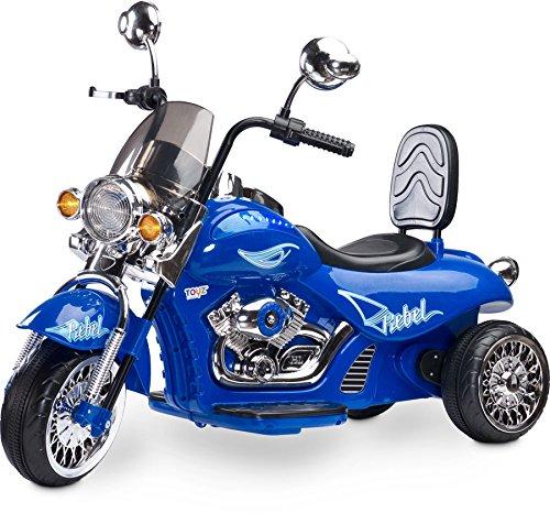 Toyz–Caretero Rebel eléctrico Infantil Moto rrad Infantil