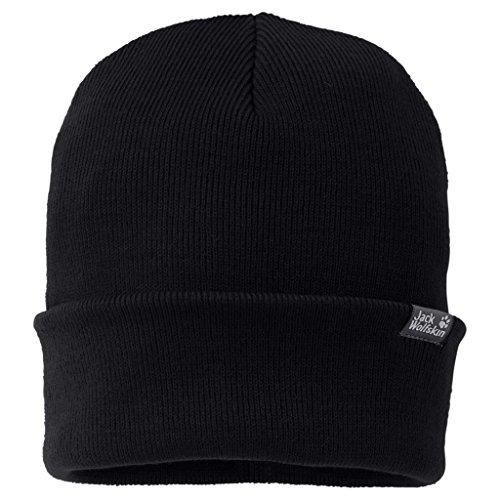 Jack Wolfskin Rib Hat One Size Schwarz