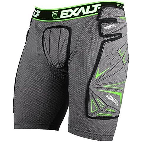 Exalt Paintball FreeFlex Slide Shorts - Gray - XL
