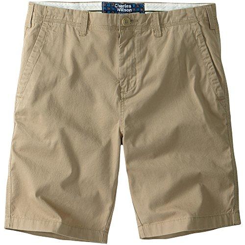 Charles Wilson Chinohose Shorts Braun