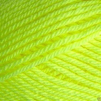 Teddy AVRIL DK Double Knitting Wool Yarn 100g Yellow