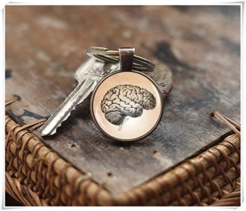 Llavero de Cerebro Humano