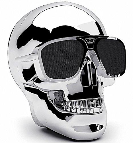 Spider-scanner (Halloween Rollenspiele Weihnachten Skull Head Bluetooth-Lautsprecher Tragbare Wireless Bluetooth Stereo Subwoofer Audio Lautsprecher für Handy MP3MP4PC Laptop, Halloween Weihnachten Creative Dekorationen Geschenke)