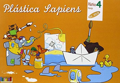 Plástica naranja, dibujo y manualidades, 4º Primaria - 9788416168477
