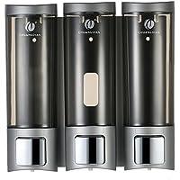 Decdeal - 3x 200ml Dispensador de Jabón y Loción de Pared (Líquido)