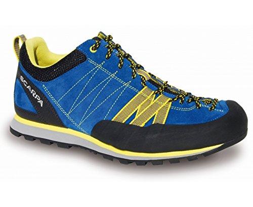Scarpa Crux Approach Hiking Schuh - SS17 blau gelb schwarz
