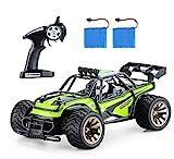 Aandyou Ferngesteuertes Auto,1:16 RC Auto,2.4GHz Ferngesteuertes Monstertruck,High Speed RC-Auto mit 2 wiederaufladbaren Batterien
