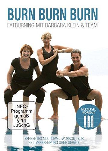 NutraLinea DVD 'BURN BURN BURN' - Fatburning mit Barbara Klein & Team