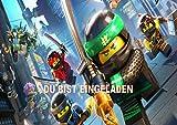 Lego Ninjago Einladungskarten 12er Set inkl. 12 Umschläge N16
