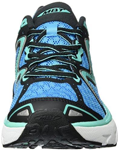 MBT Gt 16, Chaussures de Course pour Entraînement sur Route Femme Multicolore (Blue/Cyan)
