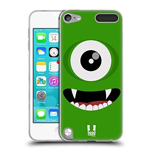 ün Fröhlich Monster Soft Gel Hülle für Apple iPod Touch 5G 5th Gen (5. Gen Ipod Touch-montage)