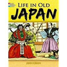 Life in Old Japan: Coloring Book (Dover Coloring Books)