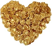 Rose Petals 1000pcs Silk Artificial Fabric Flower for Valentine Ceremony Wedding or Home Hotel Garden Bouquet Party Decorati