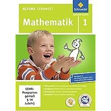 Alfons Lernwelt Mathematik 1 Einzellizenz