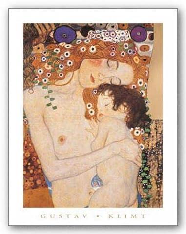 Mother and Child by Gustav Klimt Art Print