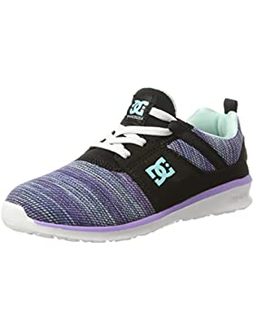 DC Shoes Heathrow TX Se, Zapatillas Para Niñas