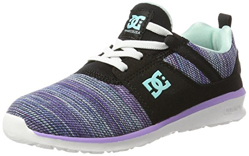 DC Shoes Heathrow TX SE, Sneaker, Schwarz (Multi 2), 39 EU (6 UK) (Dc Shoes Mädchen)