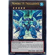 Yu-Gi-Oh! - ZTIN-IT003 - Numero 19: Freezadonte - Collezione Zexal - 1st Edition - Ultra Rara