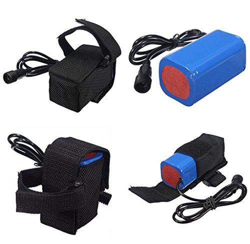 Tongshi-84V-6400mAh-recargable-4-x-18650-batera-Pack-para-lmpara-luz-bicicleta-bici
