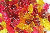 Leckere Gummibärchen - ohne Zucker. Die zuckerfreien Gummibärchen in einer Mischung in Cola-, Pfirsich- und Kirschgeschmack. (250g Beutel)