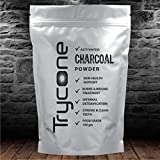 #6: TRYCONE ACTIVATED CHARCOAL POWDER (For Face mask, Teeth whitening & Teeth Cleaning, Skin Treatment, Detoxifies, Helps With Digestion) - 100 GM