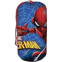Kids Licensing Saco de dormir con diseño de Spiderman - Se puede transportar fácilmente - MV15279