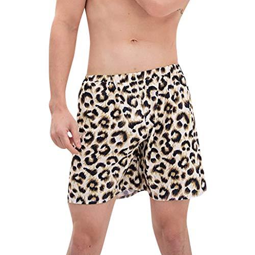 Xmansky Partnerlook Vater und Sohn Strandhosen, Familie ausgestattet Leopard Druck Badehose Strandhosen schnell trocknende Shorts Surfen Sport (Mutter Sohn Kostüme Ideen)