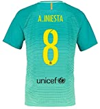 Trikot Nike FC Barcelona 2016-2017 Third (Iniesta 8, 164)