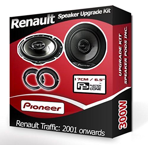 ACV Electronic Bague de fixation de haut-parleur pour Renault Megane III Senic Mod/èles /à partir de 2008 165/mm