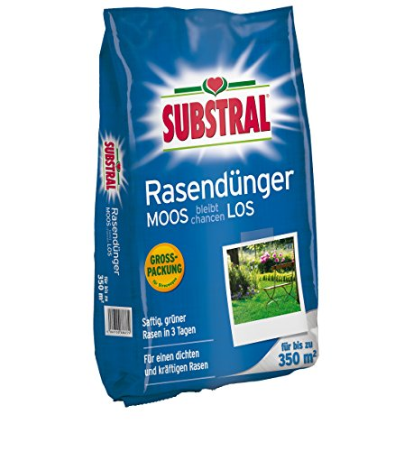 Substral Rasendünger MOOS bleibt chancenLOS - Nachfüllpack - 10,5 kg