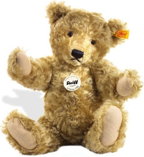 Steiff 35cm Classic 1920 Jointed Teddy Bear with Growler (Light Brown) by Steiff
