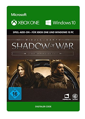 Middle-earth: Shadow of War - Story Expansion Pass DLC | Xbox One/Win 10 PC - Download Code