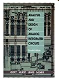 Analysis and Design of Analog Integrated Circuits