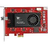 TBS 6209Octo Freeview Cable DVB-T2/C2/T/C/ISDB-T HD Tarjeta PCI Express 8clavijas