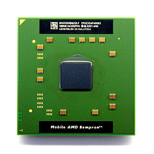 NEW AMD Mobile Sempron 3000+ 1.8GHz Socket/Sockel 754 Laptop CPU SMS3000BQX2LF (Generalüberholt) Amd Mobile