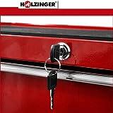 Holzinger Werkzeugwagen HWW1005KG - kugelgelagert (5 Schubfächer) -