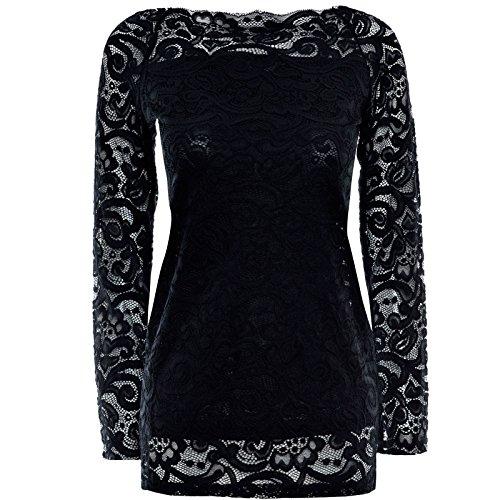 damen-feinstrick-oversize-lang-langarm-bluse-ubergrossen-long-t-shirt-body-20985-farbeschwarzgrosses