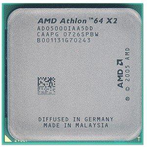 AMD Athlon 64 X 2 Dual-core 5000+ 2.6GHz 0.512MB L2 Box Prozessor - Prozessoren (AMD Athlon X2, 2,6 GHz, Buchse AM2, 65 nm, 64-Bit, 0,512 MB)