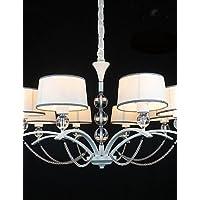 Goud lampadario lampadario in cristallo lampadario Azabu 8luci, 220–240V
