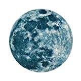 Sternenreich Großer Mond (20cm) zum Kleben, leuchtet im Dunklen. Lange und Starke Leuchtkraft, ideal für die Decke oder Wand im Kinderzimmer, Babyzimmer oder Schlafzimmer! #29