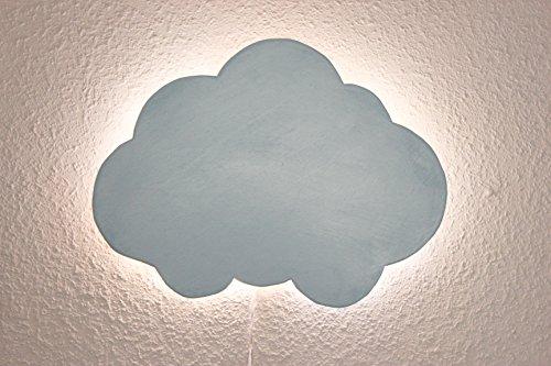 Preisvergleich Produktbild nachtlicht WOLKE hellblau-Beleuchtung kinderspielplatz nächtliche LICHT IN DER NACHT TRINKT, KINDERSPIELPLATZ LED DIOD BILLIG