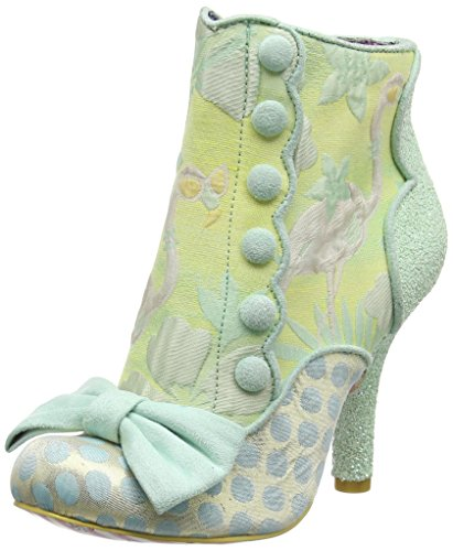 Irregular Choice Damen Golden Years Pumps Grün (Mintgrün)