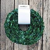 JB Buchsgirlande Myrtengirlande Hochzeitsgirlande grün 30 Meter