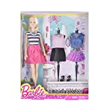 Barbie Fashion Creations Blonde Barbie Doll with Outfits and Shoes