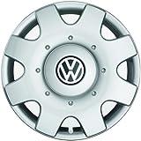 Original Volkswagen Tapacubos (4 unidades) Juego completo de 16 pulgadas tapacubos Golf Touran Jetta