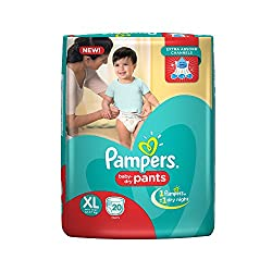 Pampers Extra Large Size Diapers Pants (20 Count)